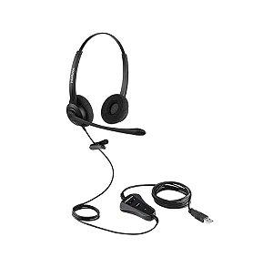 Fone Headset - CHS 60B - USB - Intelbras