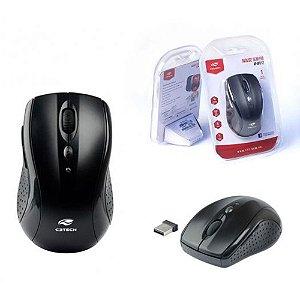 Mouse Sem Fio - C3 Tech - M-W012BK V2 - Preto