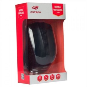 Mouse Sem Fio - C3 Tech - M-W20 - Preto