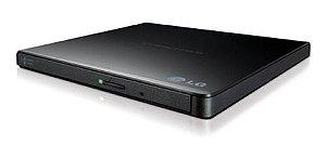 Gravador E Leitor CD e DVD Externo - Ultra Slim - LG - GP65NB60
