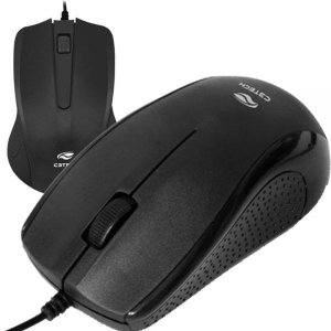 Mouse USB MS-25BK - Preto - C3Tech
