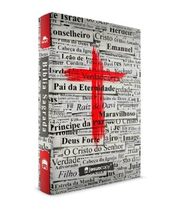 BÍBLIA CRUZ NVI - JESUS COPY