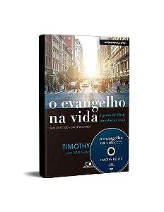O EVANGELHO NA VIDA C/ DVD PALESTRAS - TIMOTHY KELLER