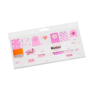 Marcador de páginas Smart Notes Marker - Flores 140 fls - BA0501