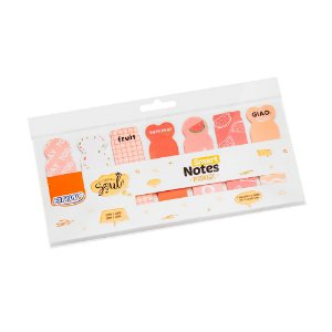 Marcador de páginas Smart Notes Marker - Melancia 140 fls - BA0503
