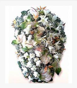 Coroa de Flores BR-11 Extra Grande Luxo