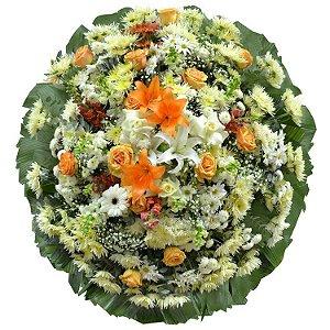 Coroa de Flores Ultimum Vale Casa de Velório