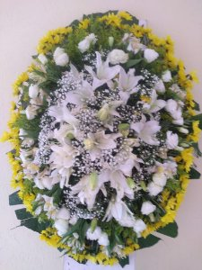 Coroa de Flores Araça Cemitério