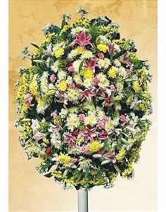 Coroa de Flores Araça