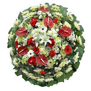 Coroa de Flores Vale da Paz Grande