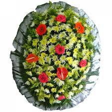 Coroa de Flores Cemitério da Saudade - Grande