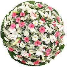 Coroa de Flores Cemitério Jardim da Paz