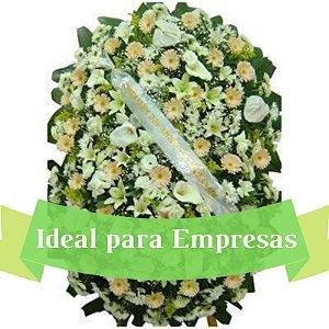 Coroa de Flores Empresa Grande