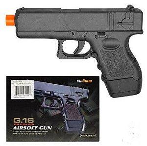 Pistola de Airsoft G16 Full Metal