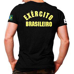 Camiseta Militar - Estampada - Exército Brasileiro