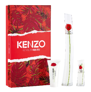 Coffret Flower By Kenzo EDP 100ml + Travel Size 15ml + Loção Coporal 50ml