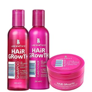 Kit Lee Stafford Hair Growth (Tratamento Completo - 3 Produtos)