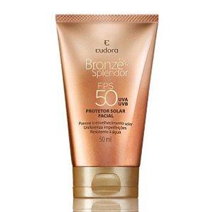 Protetor Solar Facial - Bronze Splendor FPS 50