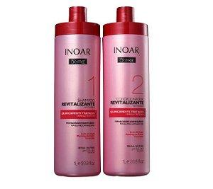 Kit Oxyfree Quimicamente Tratados Salon - shampoo 1L e Condicionador 1L