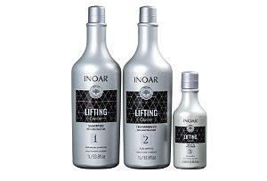 Kit Lifting Capilar - Shampoo 1L, Tratamento Capilar 1L e Leave In 250ml