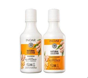 Kit Natural Collection Gengibre - Shampoo 250ml e Condicionador 250ml