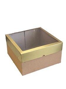 Caixa mista com visor MVB32 (32x32x17,5 cm) - embalagem com 10