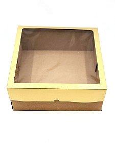 Caixa mista com visor MVT32 (32x32x13 cm) - embalagem com 10