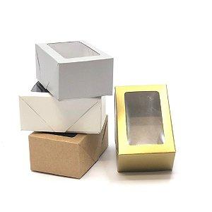Caixa com visor VR2 (9x6x4 cm) - embalagem com 20