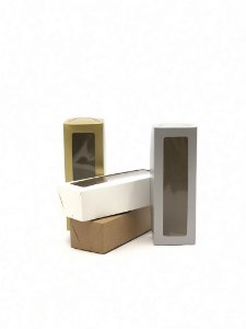 Caixa com visor VR3-5 (20x7x5 cm) - embalagem com 20