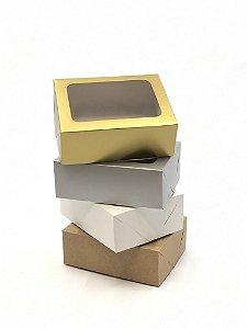 Caixa com visor VR5 (14x11x5 cm) - embalagem com 20