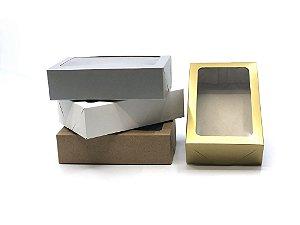 Caixa com visor VR6 (19x12x5 cm) - embalagem com 20