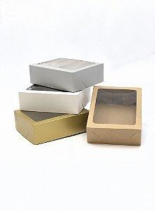 Caixa com visor VR7 (19x15x6 cm) - embalagem com 20