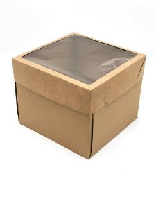 Caixa mista com visor MVB25 (25x25x20 cm) - embalagem com 20