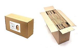 Sacola com alça torcida AT30 (30x35x30 cm) - embalagem ecológica com 50