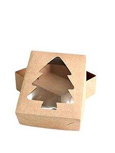 Caixa com visor VR7ARV (19x15x6 cm) - embalagem com 20