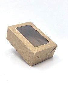 Kit caixa VR3 (12x8x4 cm)  para Ovo de Páscoa de colher + berço 1x50g - Embalagem com 20