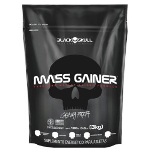 MASS GAINER BLACK SKULL 3KG - REFIL