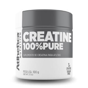 CREATINA 100% PURE - 100g - ATLHETICA NUTRITION