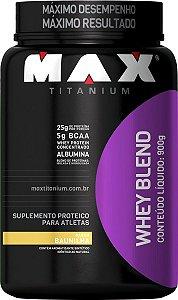 Whey Blend - 900g Baunilha - Max Titanium