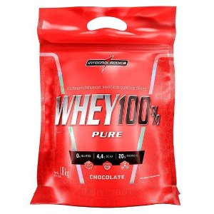 WHEY 100% PURE (REFIL-907G) INTEGRALMEDICA CHOCOLATE