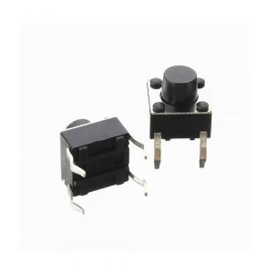 CHAVE TACT 6x6x4,3 SMD