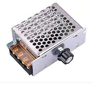 Dimmer Tiristor 4000W 220V Regulador de Tensão