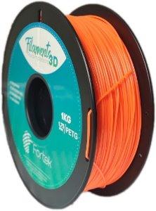 Filamento Pet-g 1,75 Mm 1kg - Laranja (Orange)