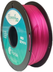 Filamento Pet-g 1,75 Mm 1kg - Roxo Translúcido (Translucent Purple)