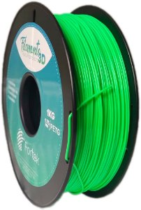 Filamento Pet-g 1,75 Mm 1kg - Verde Brilhante (Glowing Green)