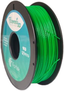 Filamento Pet-g 1,75 Mm 1kg - Verde (Green)