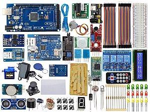 Kit Mega R3 Master Versão 2 Ethernet Wifi Automação Compatível Com Arduino