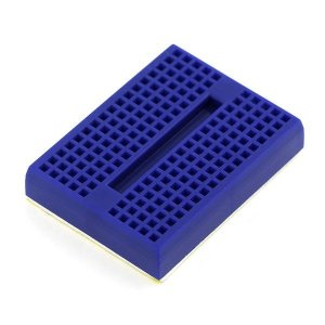 Mini Protoboard 170 Pontos Azul