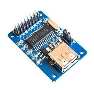 Módulo USB Host CH376A Interface Serial