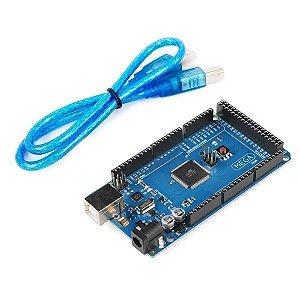 Placa Mega 2560 R3 + Cabo USB